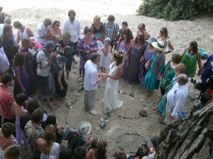 Beach Sacred Wedding